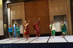Performance of DLU students from Laos during Gala dinner.JPG