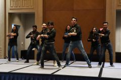 Performance of South Asia Students from DLU during Gala dinner.JPG