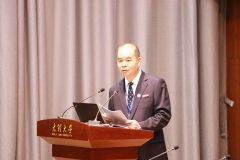 Prof. Liu Ming of DLU- Master of Ceremony for Inaugural Session..JPG